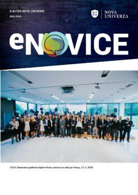e-Novice Nove univerze, maj 2018