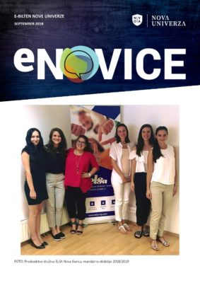e-Novice Nove univerze, september 2018