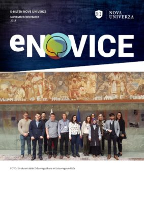 e-Novice Nove univerze, november – december 2018