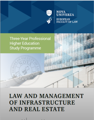 Law and Management of Infrastructure and Real Estate Brochure