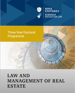 Law and Management of Real Estate (III) Brochure